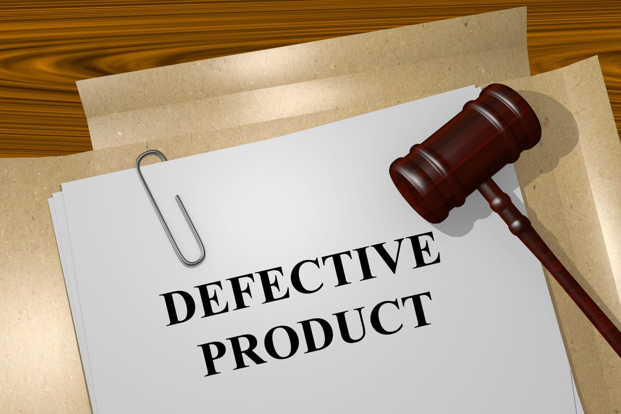 Types of Defective Product Lawsuits Recognized under Texas Law