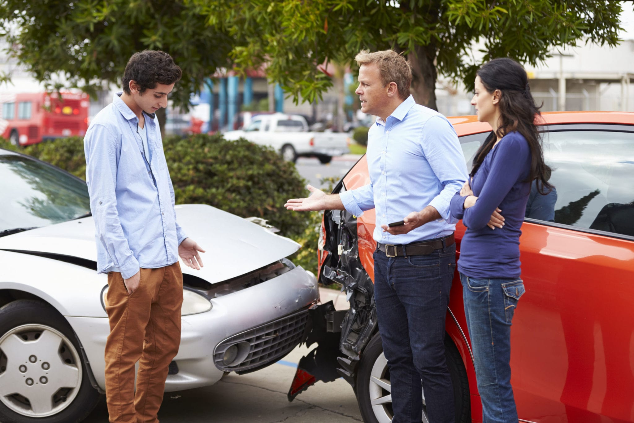 Common Reasons Texas Teen Drivers Get into Car Crashes