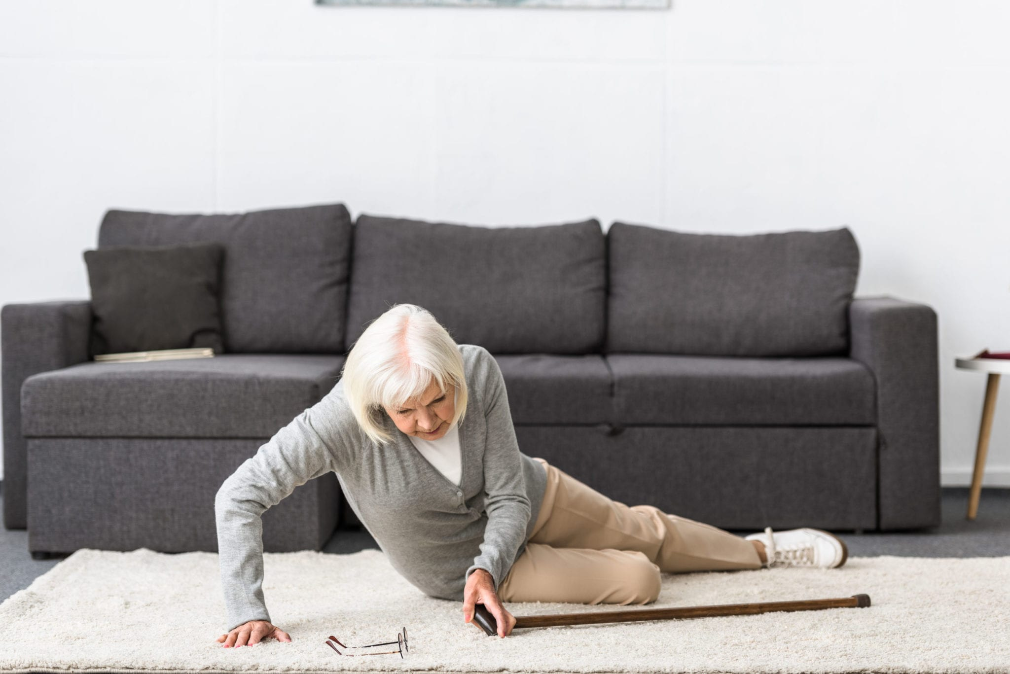 How Texas Seniors Can Keep Themselves From Slipping and Falling